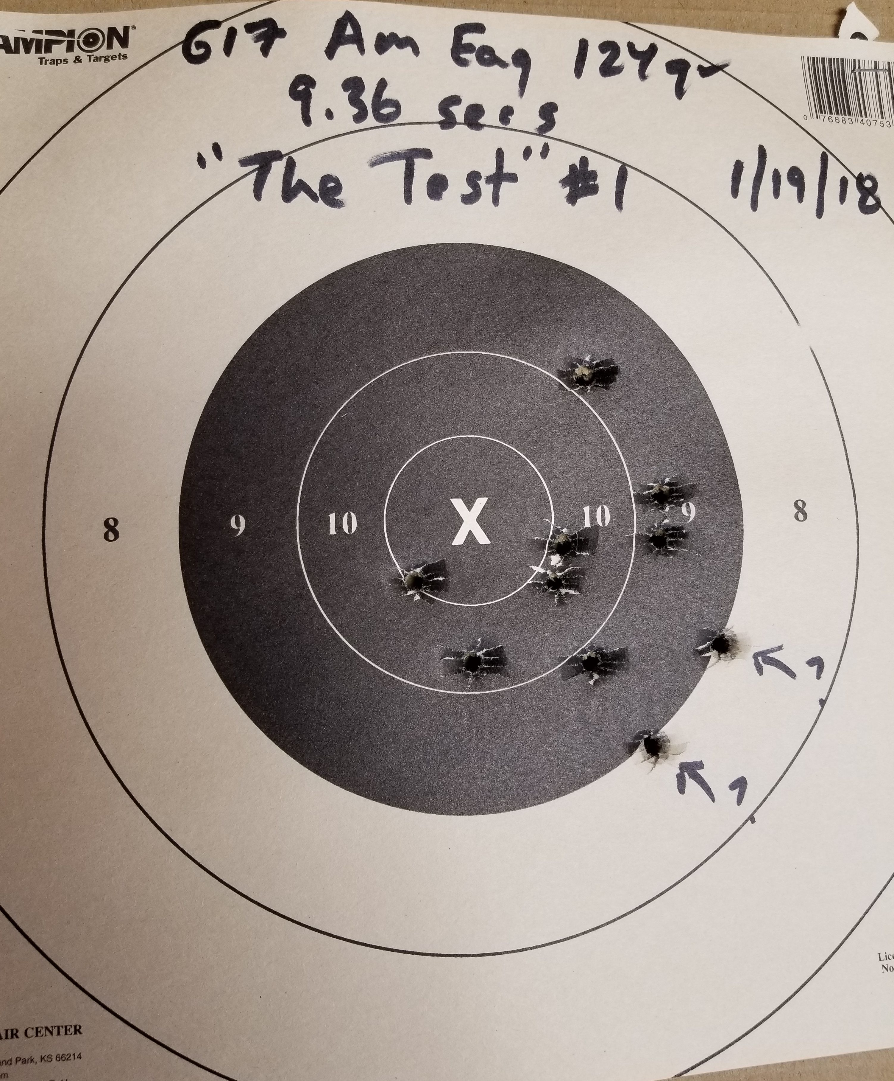 """Shooting Skills Baseline Drills, Round 2: """"The Test"""" and Dot Torture"""