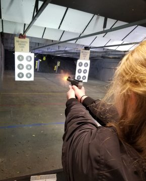 Sociology of Guns Gun Range Field Trip 2018
