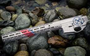 "When ""Friends"" Tempt You With Things You Don't Need – A USCG Themed AR Rifle"