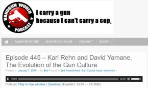 Talking with Karl Rehn on the Handgun World Podcast