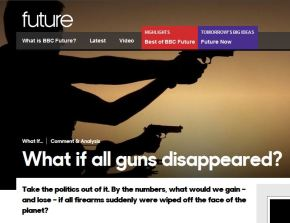 What If All Guns Disappeared? BBC Thought Experiment