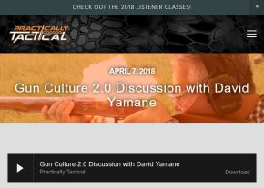 Gun Culture 2.0 Appearance on Practically Tactical Podcast