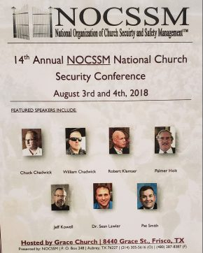 First Reflections on National Church Security Conference