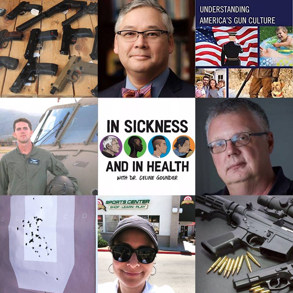 Talking Gun Culture on In Sickness and In Health Podcast