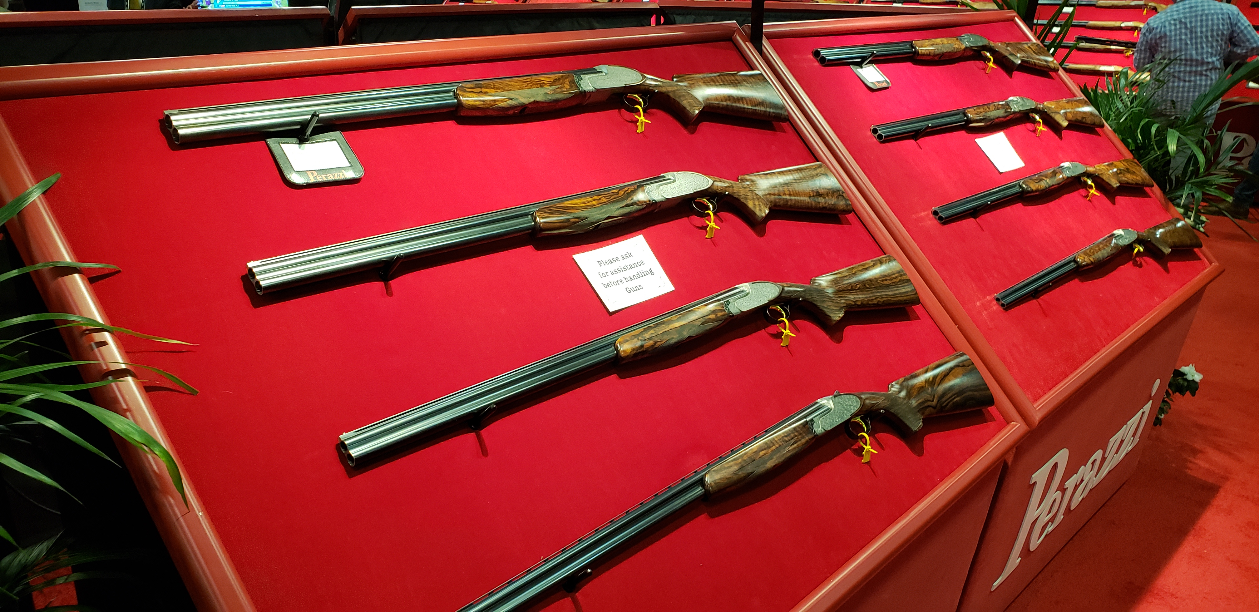 Perazzi Shotguns at SHOT Show Fantasy Land