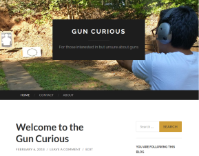 Launching GUN CURIOUS, A New Blog About Guns
