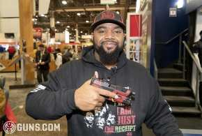Missing Kevin Dixie's The Truth Pistol at SHOTShow