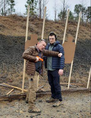 Adapting Combative Handgun Skills for Zero to Five Feet inECQC